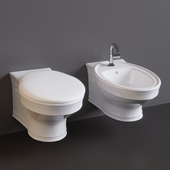 Villeroy & Boch (Amadea) Toilet and bidet hanging