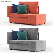 Double folding sofa GRALLSTA from Ikea. IKEA GRALLSTA.