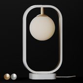 Table Lamp Avola - Silver and Gold