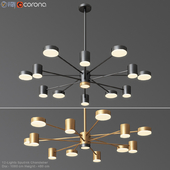 12-Lights Sputnik Chandelier