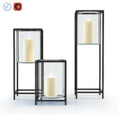 Reflection Framed Vase/Hurricane