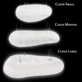 David Trubridge Cloud Pendant Lamp