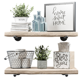 Farmhouse bath decor - Set_2
