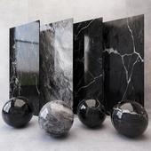 Marble Black Texture