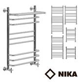 Heated towel rail of Nick L90_P_VP
