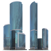 """Skyscraper """"Tower on the Embankment"""" in Moscow City"""