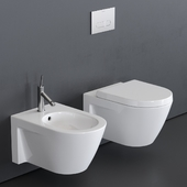 Duravit Starck 2 Wall-hung WC