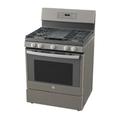Standing Gas Range with Griddle
