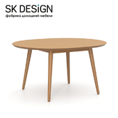 OM Dining table Fjord D120