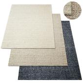 RH Bandera Braided Handwoven Wool Rug Collection