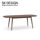 OM Dining table Fjord 85x170