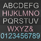 Decorative Letters & Numbers