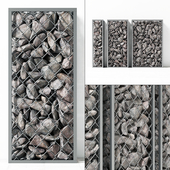 Small Gabion stone rockl / Small gabions with stones