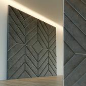 Декоративная стена. Мягкая панель. 60