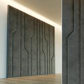 Декоративная стена. Мягкая панель. 64