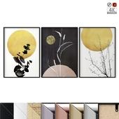 """Poster Set """"Golden Circle"""""""
