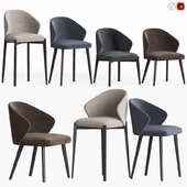 Ellen Astele Dining Chairs Set
