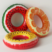 "Inflatable circles ""Fruit"""