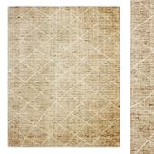 Reina Diamond Handwoven Wool Rug RH