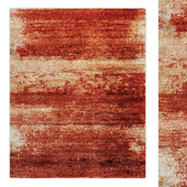 Trouve Hand-Knotted Silk Wool Rug RH