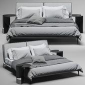 bed Flexform Adda bed 2
