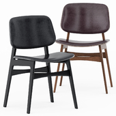 Soborg Wood Base by Fredericia Furniture
