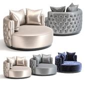 The Sofa & Chair Oscar Loveseat