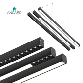 Linear LED Pendant Light from Ancard