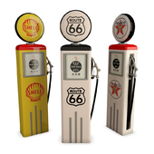 American gas pump