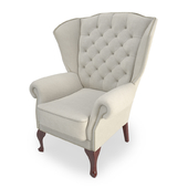Classic Upholstered Armchair