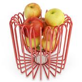 Corbel of apples