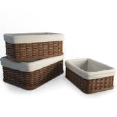 Wicker Rattan Baskets
