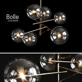 Chandelier Gallotti & Radice Bolle 6 lights