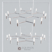 EQUINOX CHANDELIER SMALL SILVER