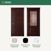 """OM"" Factory of interior doors ""Terem"": model Rimini 2 Britania (Classic collection)"