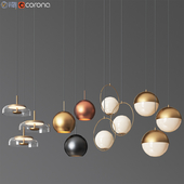 Ceiling Light Collection 4 - 4 Type