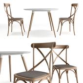 Juliagrup Daw table Silea chair