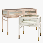 Anthropologie tannehill console side table