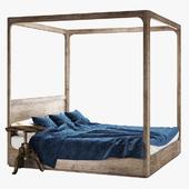 Restoration hardware martens four-poster bed