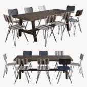 Scavolini-diesel misfit table+moroso overyard chair