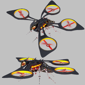 Toxic FlyCopter Concept