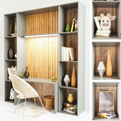 Library with shelf2