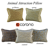 Animal Attraction Pillow