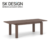 OM Dining table Brut 90x180 \ 225