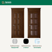 "Factory of interior doors ""Terem"": model Rosso 8 (Classic collection)"