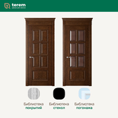 "Factory of interior doors ""Terem"": model Rosso 7 (Classic collection)"