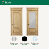 "Factory of interior doors ""Terem"": model Rosso 2 (Classic collection)"