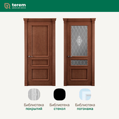 "Factory of interior doors ""Terem"": model Rimini 4 (Classic collection)"