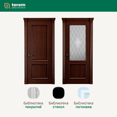 "Factory of interior doors ""Terem"": model Rimini 2 (Classic collection)"