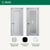 "Factory of interior doors ""Terem"": model Rimini 1 (Classic collection)"